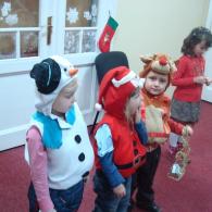 Музыкальные предновогодние спектакли для детей от 1 года до 8 лет в клубе VokiToki, Хорошевский район, Москва