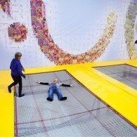 Каникулы для детей и взрослых в новом батутно-акробатическом клубе Up&Fly, Москва