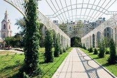 Сад имени Баумана в Москве