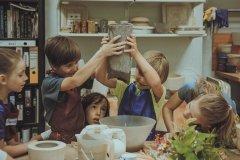 """""""Ком"""", мастерская глины для детей и взрослых на Речном вокзале, Москва"""