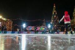 ГУМ-Каток, открытый каток на Красной площади