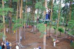 """""""Лесной экстрим"""", веревочный парк в Парке им. Гагарина, детские праздники в Челябинске"""