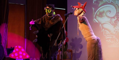 """""""Груффало"""", спектакль на английском языке от Flying Banana Children's Theatre для детей от 3 до 8 лет в Саду Эрмитаж в Москве"""