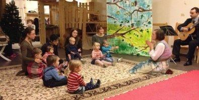 """Развивающие занятия, орф-педагогика, йога, группы полного дня - набор детей от 8 месяцев в семейный клуб """"Большая черепаха"""" на Профсоюзной, Москва"""