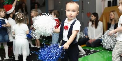 """""""Моя первая ёлка"""", новогодний праздник для малышей от рождения до 3 лет в семейных центрах CityKids, Москва"""