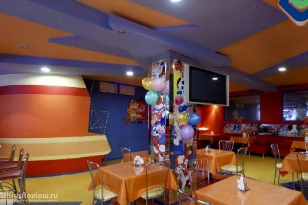 """""""Апельсиновая корова"""", кафе с детским меню и караоке, проведение детских дней рождения в Омске"""
