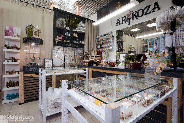 """Artkoza, """"Арткоза"""", магазин товаров для творчества в ТЦ """"Тишинка"""", Москва"""