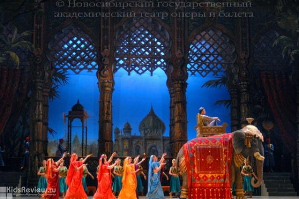 """""""Баядерка"""", балет для зрителей от 12 лет в Новосибирском театре оперы и балета"""