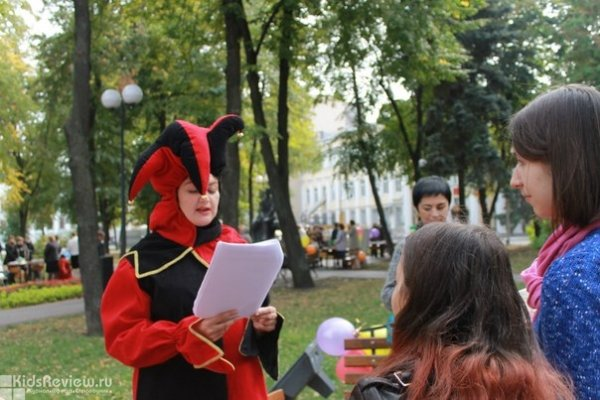 Фестиваль книги в Бунинском сквере и в Никитинке, Воронеж