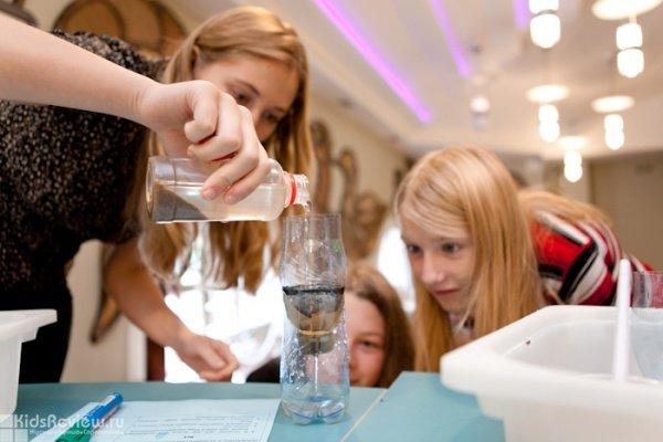Летний научный лагерь для детей от 8 до 12 лет в парке научных развлечений Newton в Екатеринбурге