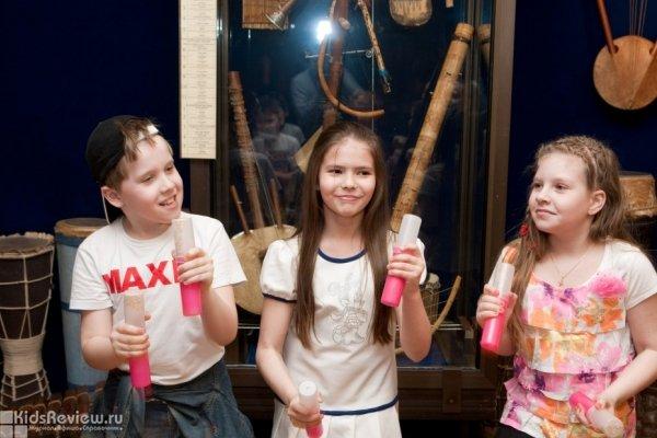"""""""Живой звук. Часть 1"""", цикл занятий для детей 9-12 лет в Центральном музее музыкальной культуры, Москва"""