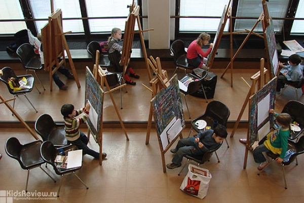 Детская студия Третьяковской галереи в Лаврушинском переулке, Москва
