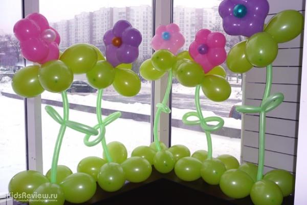 """""""Праздничное агентство №1"""", воздушные шары на день рождения ребенка, оформление воздушными шарами, Хабаровск"""
