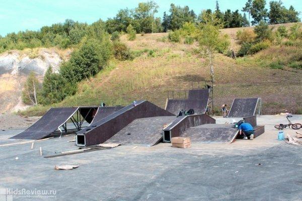 Экстрим-парк в Лагерном Саду, Томск
