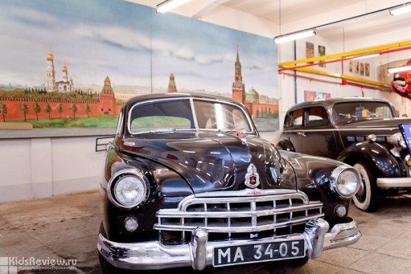 Выставка ретроавтомобилей в рамках празднования Дня города 2014 в Челябинске, Парк им. Гагарина