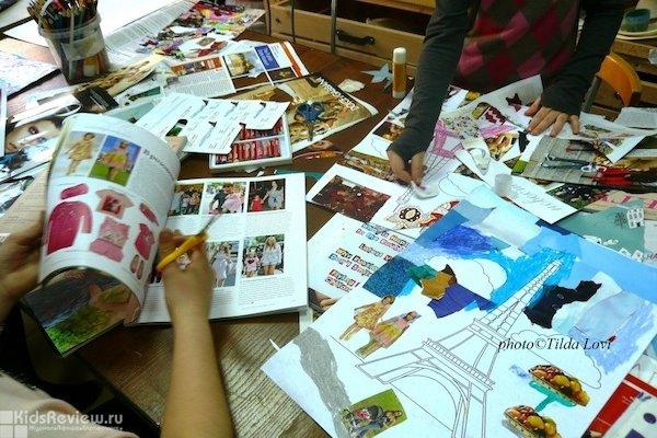 """Pour l'Amour de l'Art, международная студия современного искусства для детей и для """"вечных детей"""", Москва"""