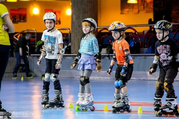 Miniroller, детская академия роллер спорта, обучение катанию на роликах детей от 4 лет в Москве
