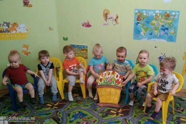 """""""Барбарики"""", домашний детский сад для малышей от 1 до 4 лет, Томск"""