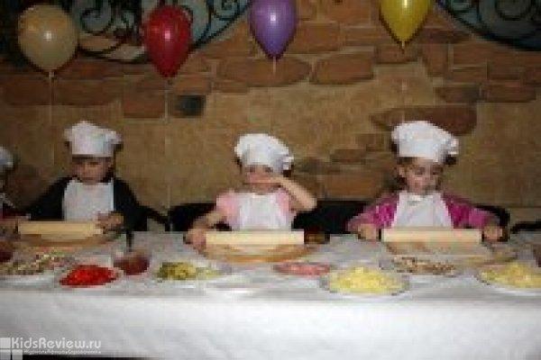 """Как приготовить пиццу - бесплатный мастер-класс для детей в ресторане """"Da Pino"""", Перово"""