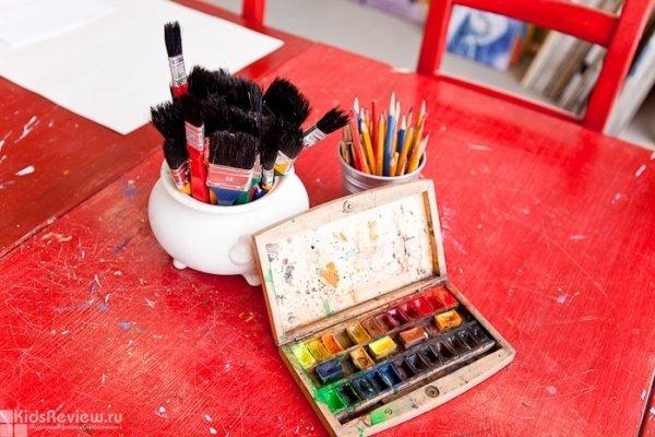 """""""Рисуем вместе!"""", занятия по рисованию для детей от 4 лет и родителей от книжного интернет-магазина """"Книжечки"""", Хабаровск"""