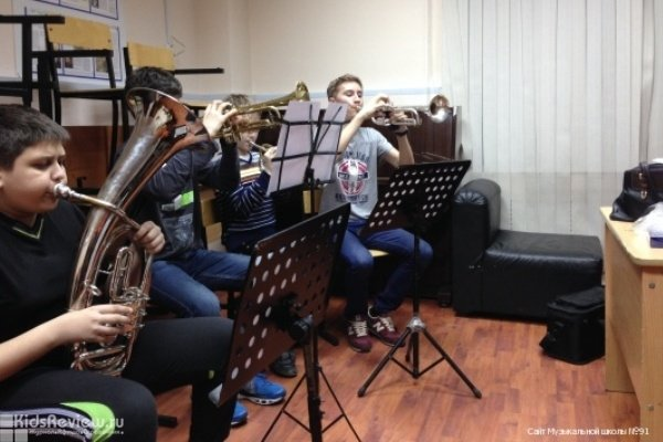 Детская музыкальная школа № 91 в Лефортово, Москва