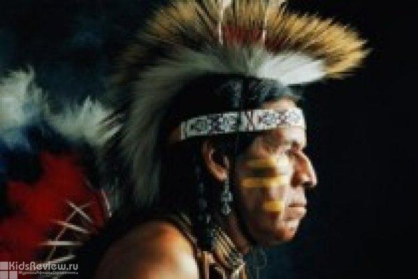 """""""Кто такие индейцы?"""", занятие и мастер-класс для детей в кафе """"Бурый Лис и Ленивый Пёс"""""""