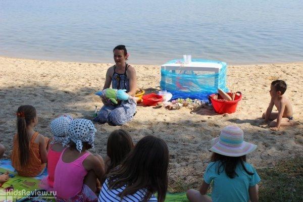 """""""Вместе с мамой"""", лагерь для родителей с детьми от рождения на море в Греции"""