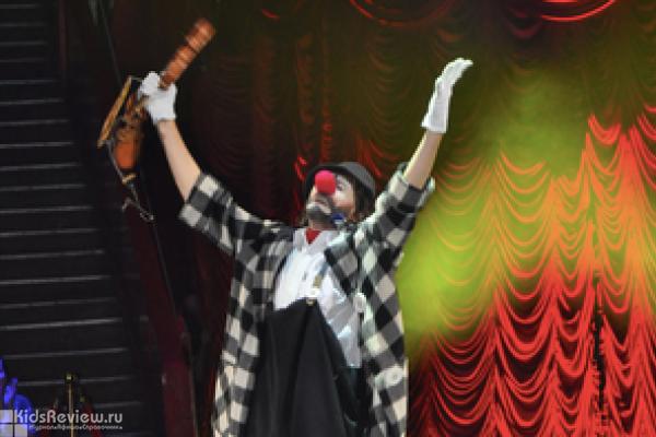 """""""Клоун-сапиенс"""", моноспектакль в театре """"Наш Дом"""" в Химках, Москва"""