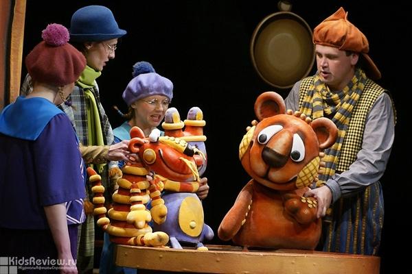 """""""Винни-Пух для всех, всех, всех!!!"""", спектакль для детей от 2 лет в Театре кукол им. В. Вольховского, Челябинск"""
