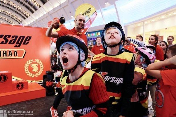 """Forsage, """"Форсаж"""", электрокартинг, детские гонки на дрифт-карах в ТРЦ Columbus, Москва"""