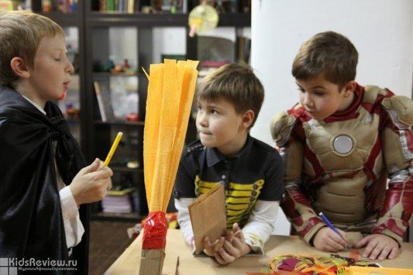 """Интерактивное представление на Хэллоуин 2015 для детей от 7 лет и родителей в Творческих мастерских """"Винзавода"""", Москва"""