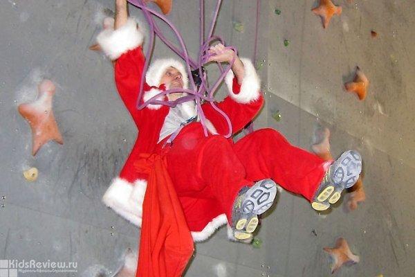 Конкурсы, эстафеты и состязания на новогоднем празднике на скалодроме RedPoint