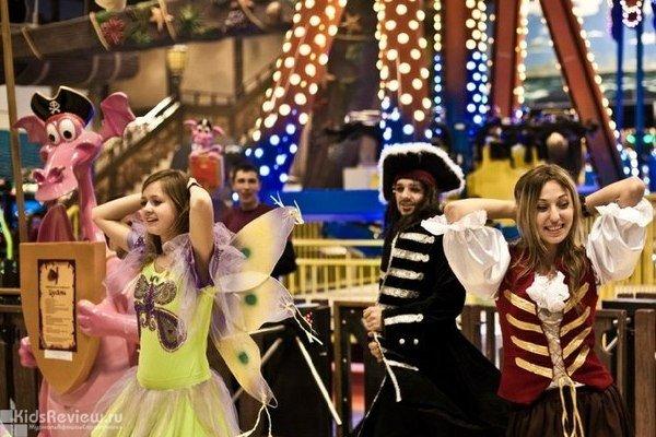 """""""Посвящение в пираты"""", праздник для детей в парке развлечений Happylon Sochi Pirate's Park, Сочи"""