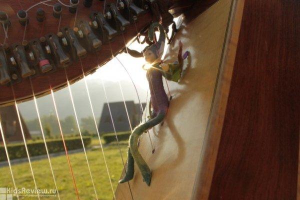 """""""...Так звучит Любовь!"""", концерт венгерского арфиста Alizbar в Органном зале Консерватории им. Глинки, Новосибирск"""