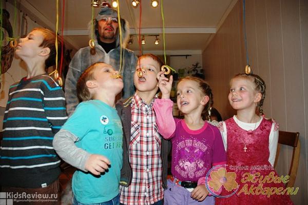 """""""Живые акварели"""", студия дизайна, праздники и мастер-классы для детей и взрослых, Москва"""
