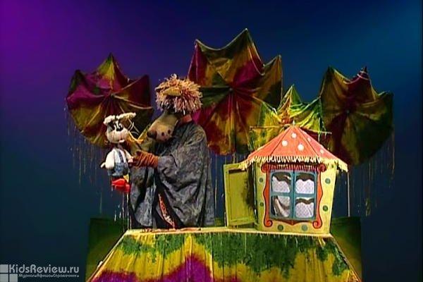 """""""Вместе с нами поиграй!"""", спектакль для детей от 3 лет в Новосибирском областном театре кукол"""