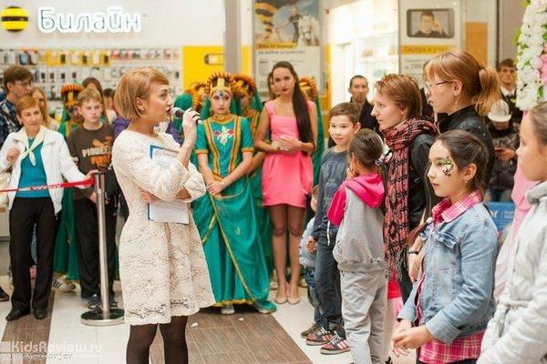 """Новогодние праздники для детей в ТЦ """"Аркада"""", Уфа"""
