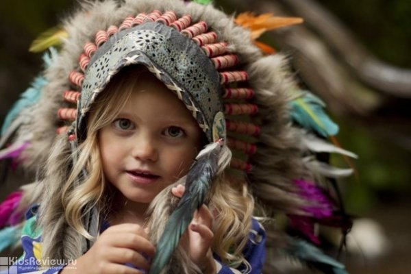 """""""Индейские игры"""", познавательная программа для детей от 5 лет в Доме Путешественника, Владивосток"""