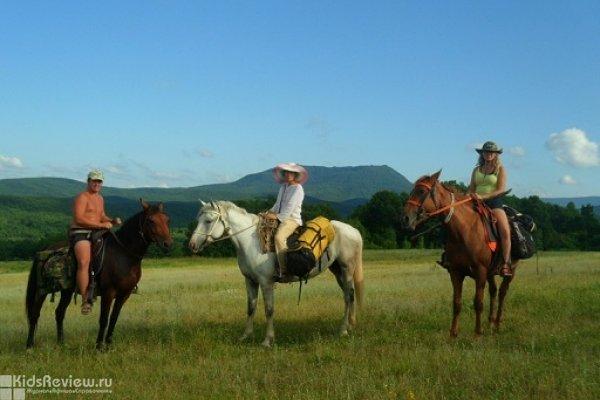 """""""Южное сияние"""", катание на лошадях, конные прогулки для детей и взрослых, поселок Ильский, Краснодарский край"""