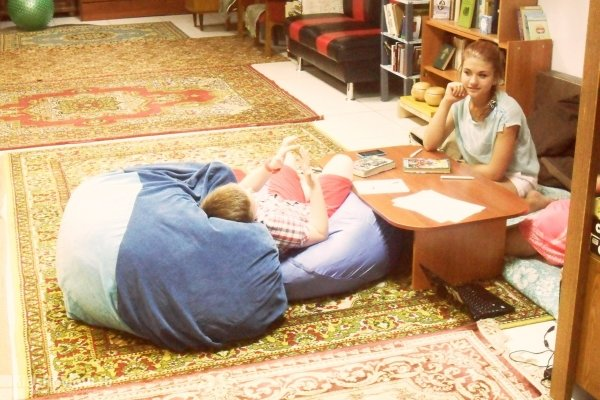 """Образовательная летняя площадка для детей 7-13 лет в круглосуточной библиотеке """"Зеленая лампа"""", Томск"""