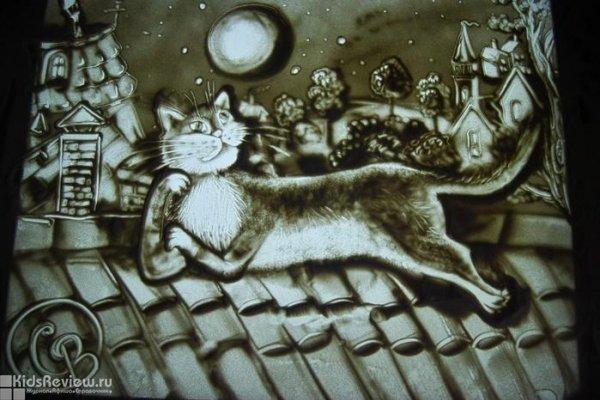 """""""Песочные сказки"""", цикл концертов для детей от 6 лет в Музее музыкальной культуры им. Глинки, Москва"""