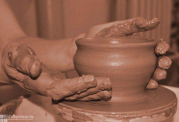 Класс керамики в школе №33, Хабаровск