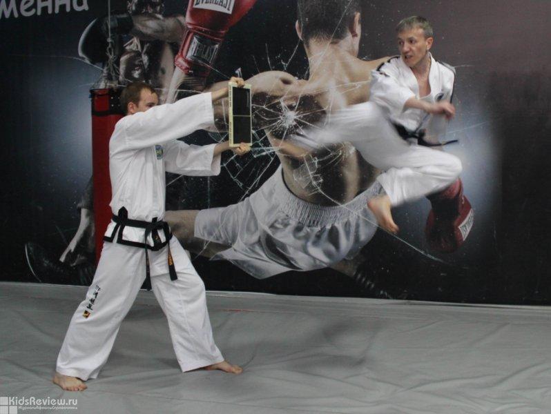 """""""Черный дракон"""", спортивный клуб, занятия тхэквондо для детей от 4 лет и взрослых, Краснодар"""