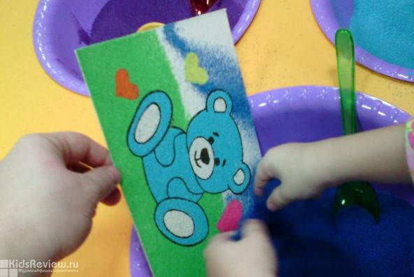 """""""Арт-песочница"""", творческая студия, рисование цветным песком, товары для творчества в ТРЦ Smile Mart, Хабаровск"""