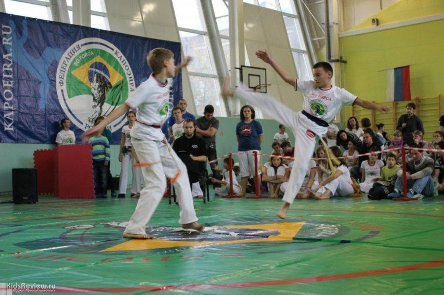 """Capoeira Camara (""""Капоэйра Камара""""), капоэйра, джиу джитсу и музыкальные занятия в ЮАО, Москва"""