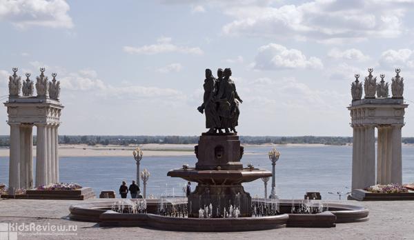 """""""Искусство"""", """"Дружба народов"""", фонтан на набережной 62-й Армии, Волгоград"""