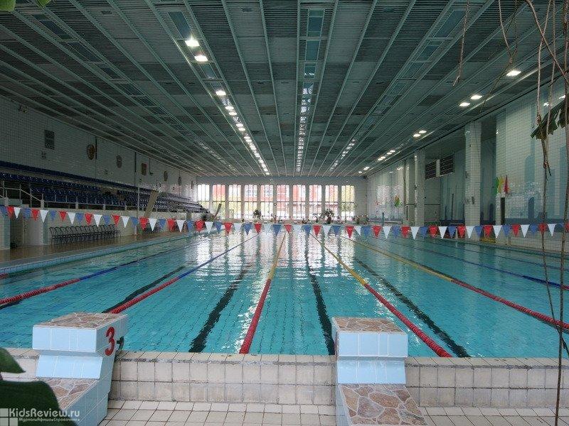 Дом плавания МОЦВС, закрытый бассейн, плавание для детей и взрослых, Москва