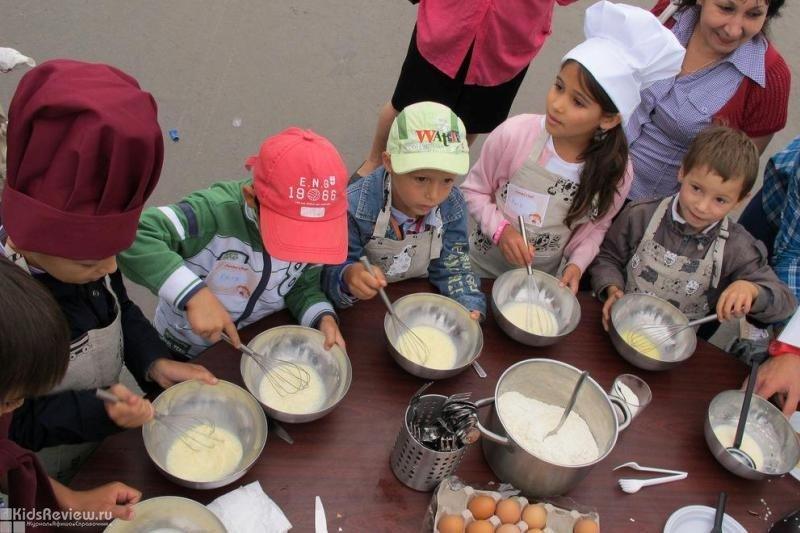 """""""Джуниор Шеф"""", Junior Chef, детская кулинарная школа, кулинарные мастер-классы для детей в Москве, Китай-Город"""