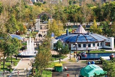 Детский парк им. А.П. Гайдара в Хабаровске