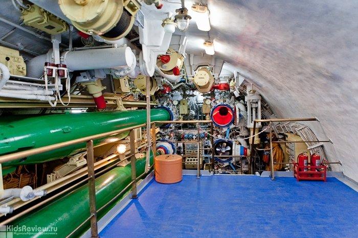 подводная лодка как музей в москве